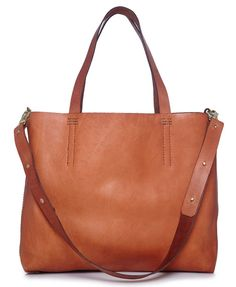 Gorgeous leather tote from Fait La Force