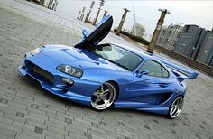 Toyota Supra..we have one of these in black..that never get driven lol