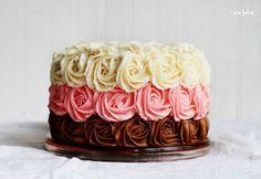 Торт из роз. Видео мастер-классы   Домохозяйка