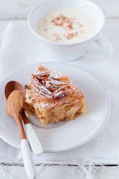 milk ruffle pie