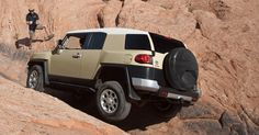 FJ Cruiser shown in Quicksand #Toyota #FJ #Cruiser