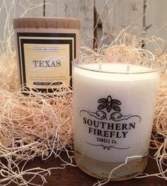 Texas Cedar & Leather Soy Candle