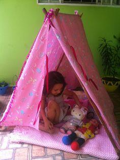 DIY - Como fazer uma cabana infantil
