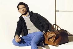 Top Model David Gandi Starring in Massimo Dutti Lookbook of March Spring 2013