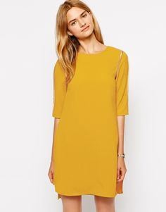 Closet+Tunic+Dress+with+Binding+Detail