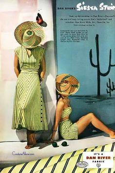 Beach fashion c.1940's