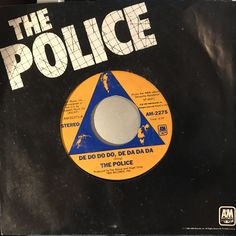 We have a huge selection of Vinyl, CDs and Cassettes in store including Police - De Do Do.... Check it out here http://www.backbayrecords.co.uk/products/police-de-do-do-do-de-da-da-da-7-inch-a-m-am-2275-usa-vg-vg?utm_campaign=social_autopilot&utm_source=pin&utm_medium=pin #vinyl