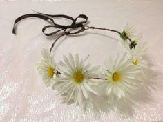 HINAGIKU adjustable daisy crown by CosmicCrystal on Etsy