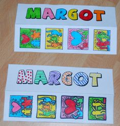marques pages keith haring Classroom Art Projects, Art Classroom, Art Montessori, Keith Haring Art, Art History Memes, Ecole Art, Art Plastique, Elementary Art, Artist Painting
