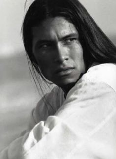 "Rodney Grant from Dances With Wolves ""Wind in His Hair"""