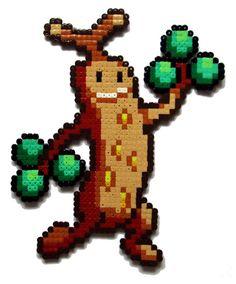 Sudowoodo Pokemon Perler Bead sprite