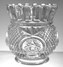 EAPG - Model Flint Glass - Pride aka Beveled Star - Toothpick Holder