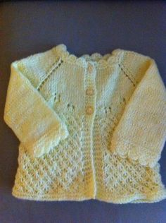 knit cardigan - finished products for sale - this now out of stock, nice pattern though.