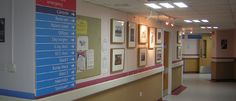 Gilbert Bain Hospital, NHS Shetland with the installed Exled Nova neutral white LED ceiling panel.