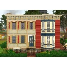 New Orleans Queen Anne by GreenCats - The Exchange - Community - The Sims 3