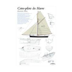 Plan de modélisme, Cotre-pilote du Havre