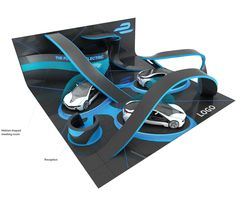 Exhibition Stand for FIA Formula E Championship 2015 on Behance