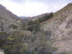 Chubut, Camino a La Hoya