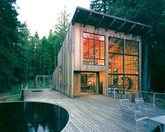 Ikea designer's cabin in Cazadero, California