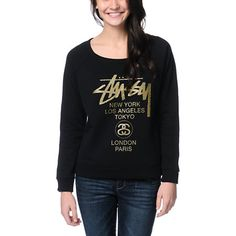 Stussy Girls World Tour Sweatshirt Ima Go See If I Could Buy It Today :)