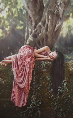 Forest maiden, medieval, fantasy