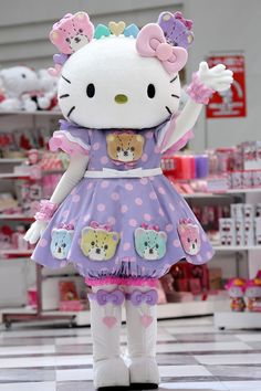 I love Hello Kitty!!!