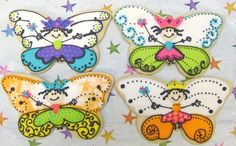 Reserved for DoreenButterfly Princess Cookies by lorisplace