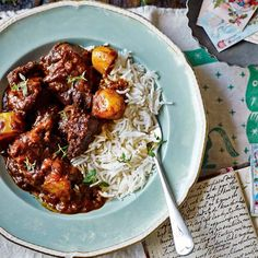There's no need to order a takeaway – plan ahead and cook this easy spiced beef casserole instead.