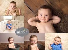 Cincinnati Baby Milestone Photo