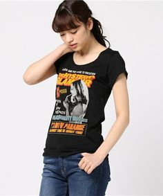 【ZOZOTOWN|送料無料】HYSTERIC GLAMOUR(ヒステリックグラマー)のTシャツ/カットソー「THE GUIDE pt T-SH」(01171CT02)を購入できます。