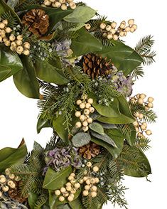 "28"" To 32"" Artificial Decorated Christmas Wreaths 