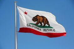 California:  The Golden State flag