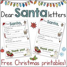Santa Letter Template  Santa Letter Template And Santa
