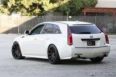 Cadillac CTS-V battlewagon) Cadillac Cts V, Cadillac Eldorado, Cts V Wagon, Sports Wagon, Gt Cars, Super Sport Cars, Station Wagon, Motor Car, Cars Motorcycles