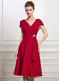 mother of the groom tea length dresses for fall - Google Search