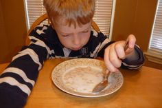 LOVE this April Fool's breakfast prank to play on your kids - so easy and they will love it!