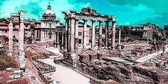 Viewranger GPS files for the Via Francigena [Lazio]: Rome-Viterbo-Acquapendente 6 Stages St Jacques, Saint James, Big Ben, Saints, Building, Travel, Santiago, Drive Way, Rome