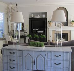 Anythingology: DIY Designer Glass Lamps - great diy lamps, look at blog and other pictures