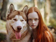 White Wolf : Women Who Run With The Siberian Huskies