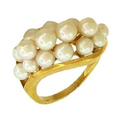 AARON FABER - Cultured Pearl Ring