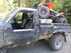 Too much fun there Toyota 4x4, Cool Trucks, Project Ideas, Monster Trucks, Toys, Vehicles, Fun, Activity Toys, Ideas For Projects