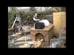 Kerti sütögető építése - YouTube