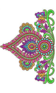 King Style Clothing | Designer Border Embroidery Design