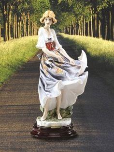 Giuseppe Armani Mariah 2001 Figurine Retire 2002  1407C $450.00. #GiuseppeArmani #Figurine.