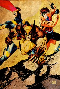 Jim Lee Cyclops | Wolverine, Cyclops, & Gambit - Jim Lee
