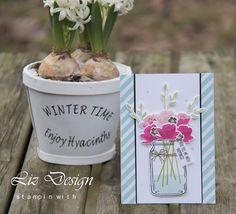Stampin with Liz Design Jar of Love Stampin Up Card