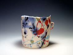 Confetti .Porcelain. Johan van Loon