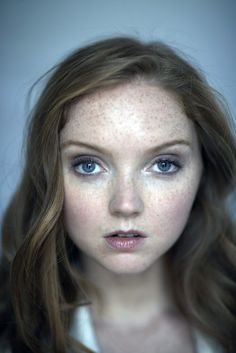 Lily Cole studio portraits