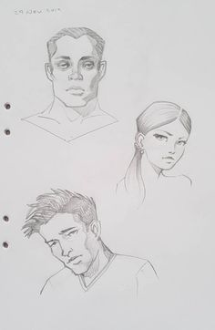 Heads by pnscribbles on DeviantArt Character Description, Drawing Tools, Art Sketchbook, Literature, Novels, Doodles, Deviantart, Comics, Drawings