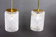 Pair of Ceiling Lamps by Carl Fagerlund | From a unique collection of antique and modern chandeliers and pendants  at https://www.1stdibs.com/furniture/lighting/chandeliers-pendant-lights/